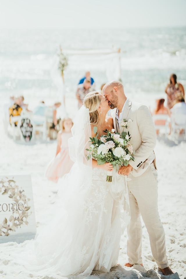 Beach Wedding Bouquet | Bown Media Wedding Photographer